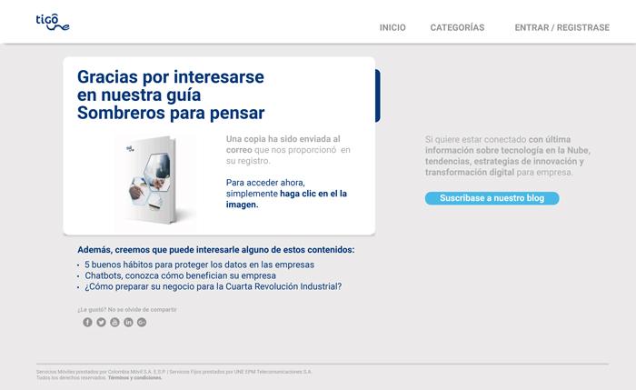 TIGO_UNE Business_B2B