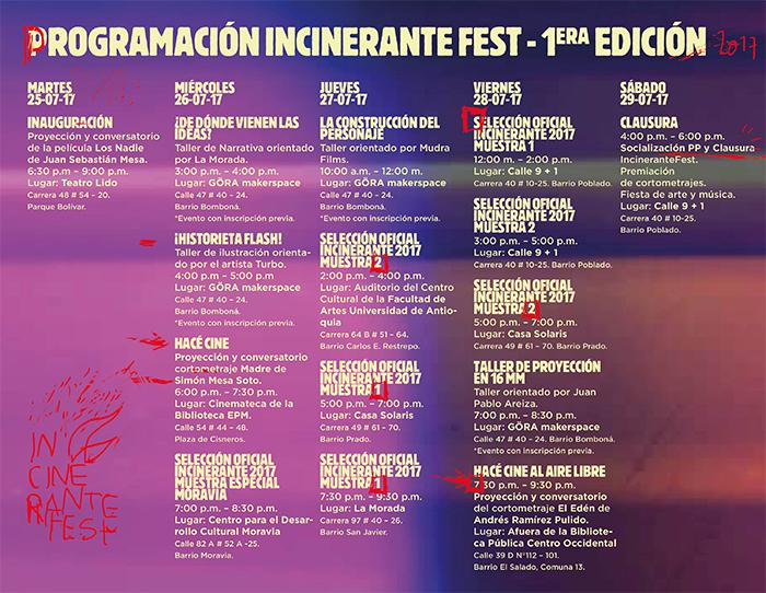INCINERANTE FESTIVAL 2017 – 1era Edición