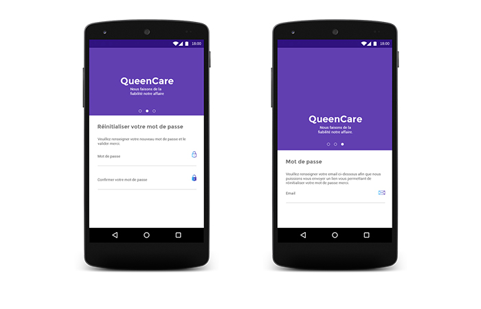 Queen Care Android App